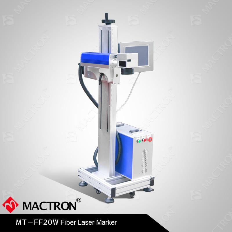 20w Optical Fiber Laser Marking Machine Flying Marking For