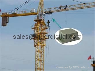 SST810 Dynamic Inclinometer for Tower Crane 1