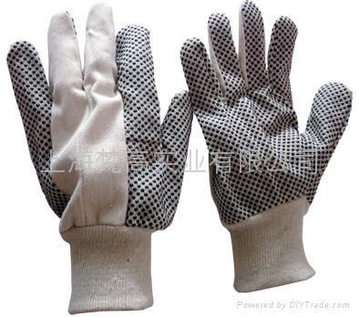 斜紋布點珠手套 1
