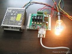 串口控制四路可控硅輸出板