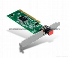 PCI塑料光纖網卡 光纖網卡 網卡
