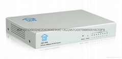 8口塑料光纖交換機JAD-1008