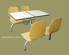 餐廳快餐桌椅.中式快餐桌椅.曲木快餐桌椅