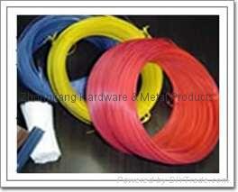 plastic coated iron wire  1
