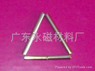 玩具磁鐵/皮具磁鐵/皮袋手飾磁鐵鍍鋅鍍鎳磁鐵 5