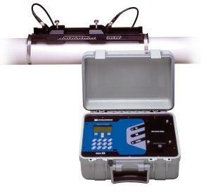 美國動聲觸屏便攜式超聲波流量計 1