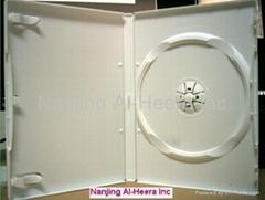 14mm White DVD CASE