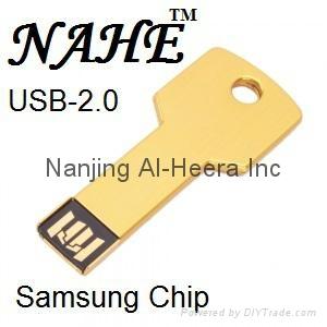 8GB Wooden Key USB Flash Drive 3