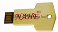 8GB Wooden Key USB Flash Drive 4