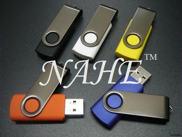 8GB Twister USB Flash Drive 5