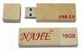 16gb Wooden USB Flash Drive 1