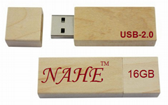 16gb Wooden USB Flash Drive