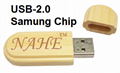 16gb Wooden USB Flash Drive 6