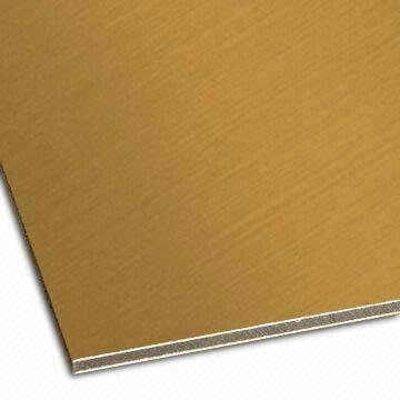 Brush faced Aluminum Composite Panel 2