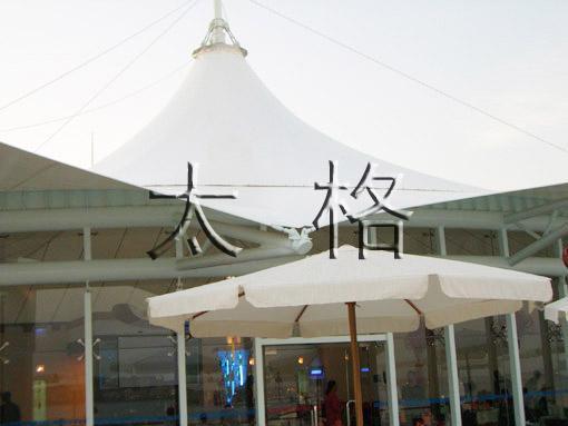 屋頂膜結構建築工程 1