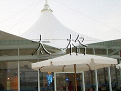 屋顶膜结构建筑工程