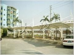 停车场张拉膜结构工程