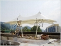 停車場張拉膜結構工程 3