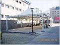 屋頂膜結構建築工程 2