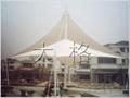 屋頂膜結構建築工程 3