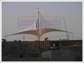 屋頂膜結構建築工程 5