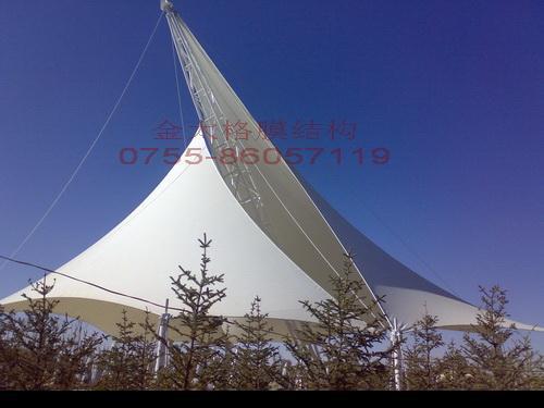 小區,廣場景觀遮陽膜工程 4