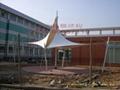 小區,廣場景觀遮陽膜工程 5