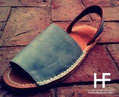 Avarcas , Abarcas , women leather sandals