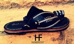 Handmade Leather Sandals , Saudi Sandals , Madas Sharqi