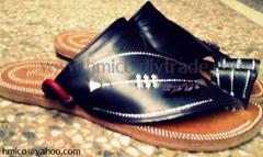 Madas Sharqi , traditional saudi sandals, handmade leather sandals for men women