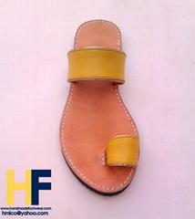 Kolhapuri women leather handmade sandals