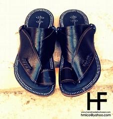 Genuine Leather Handmade Sandals for men and women , saudi sandals, madas sharqi