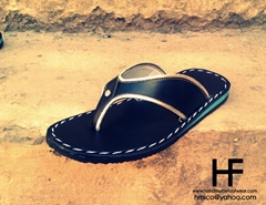 Leather Sandals - Leather Flip Flops for women