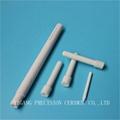 screw threaded alumina ceramic al2o3 insulating rods 3