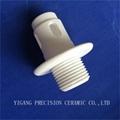 screw threaded alumina ceramic al2o3 insulating rods 4