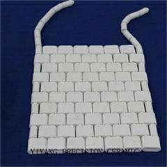 Flexible ceramic pad