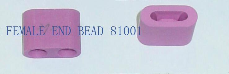 95 alumina ceramic beads white or pink 1