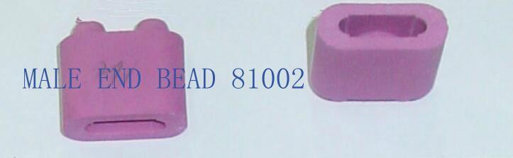 95 alumina ceramic beads white or pink 2