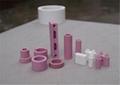95 alumina ceramic beads white or pink 9