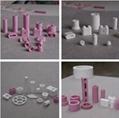 95 alumina ceramic beads white or pink 10