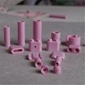 95 alumina ceramic beads white or pink 13