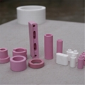 95 alumina ceramic beads white or pink