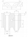 Infrared ceramic heating chamber vaporizer holders 11