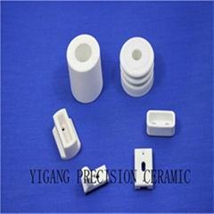 95 alumina ceramics super wear resistant ceramic gasket sealing insulation