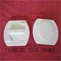 95% alumina ceramic small tail bead for Flexible Heaters pads for heat treatment