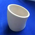 Refractory porous alumina ceramic tube