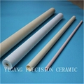 refractory ceramic gold tube sockets machined for heater