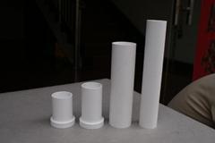 alumina ceramic tube sockets machined