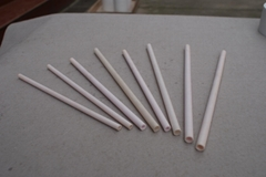 ceramic gold tube sockets machined for heater