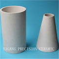 fiber ceramic gold tube sockets machined for heater